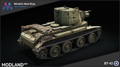 Mirukii's BT-42 Remodel (BT-7 Artillery Replacement) [1.5.1.0], 2 photo